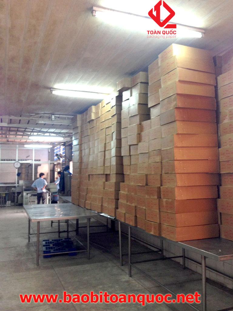 thùng carton cán pe, thùng carton chống thấm, bao bì carton, bao bi giay
