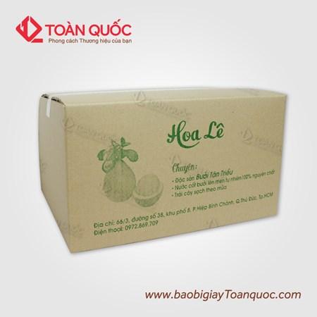 thùng carton đựng trái cây xuất khẩu