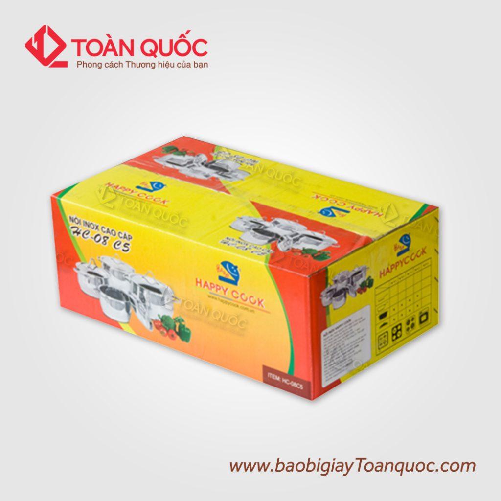 Thung carton in offset