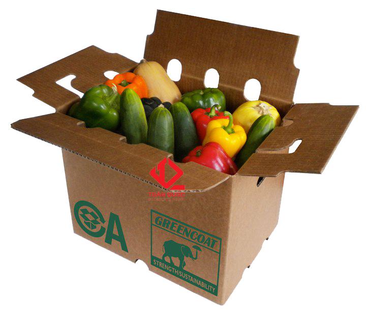 thùng giấy carton đựng nông sản