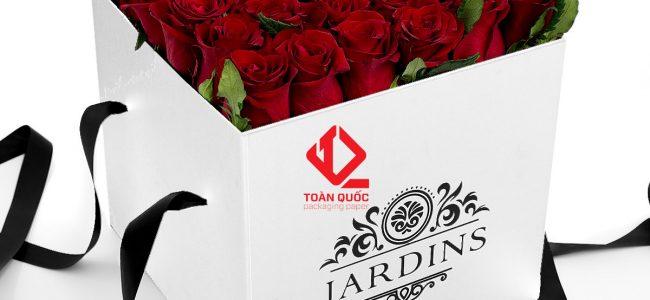 hộp giấy đựng hoa