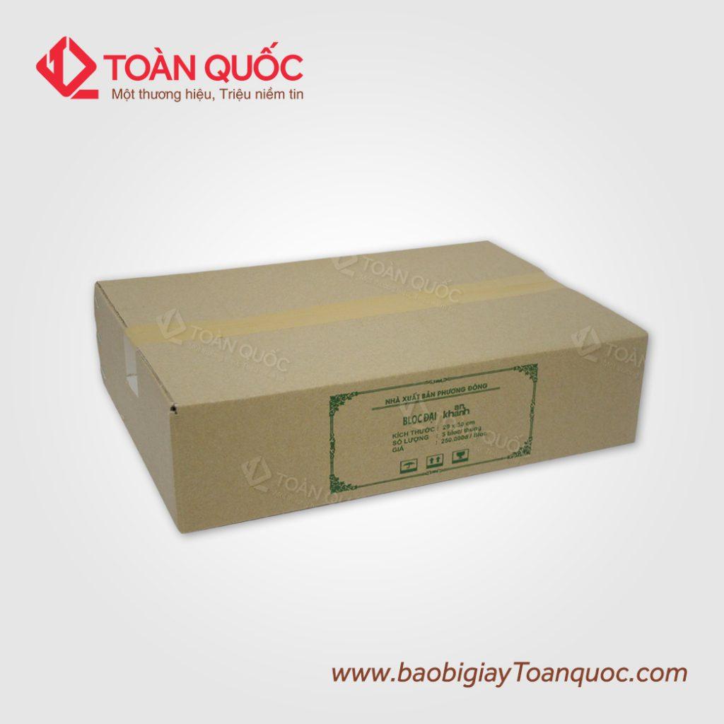 thùng carton chất lượng cao