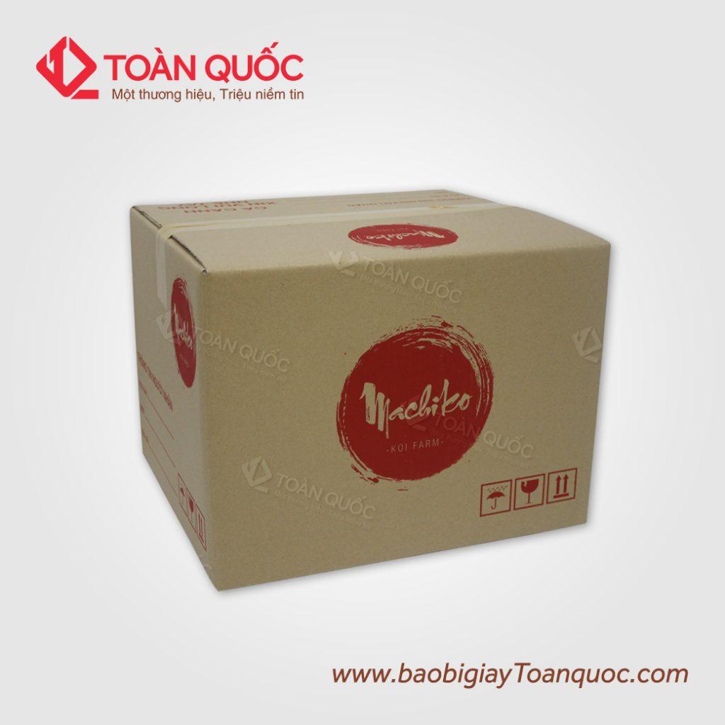 sản xuất thùng giấy carton