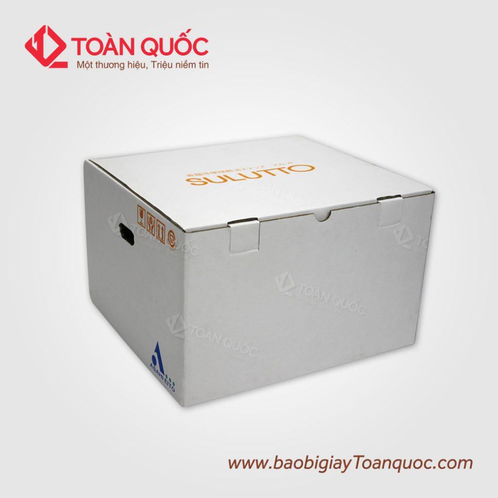 thiết kế thùng carton