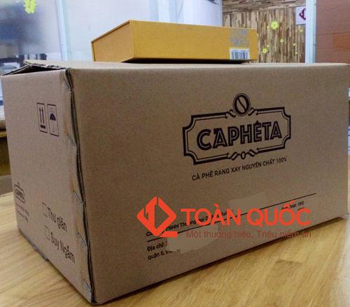 thùng carton cũ, thung carton cu