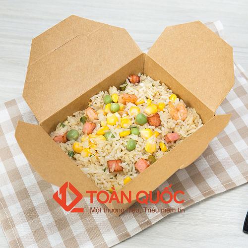 hộp giấy đựng thức ăn mùa Tết, hop giay dung thuc an mua Tet